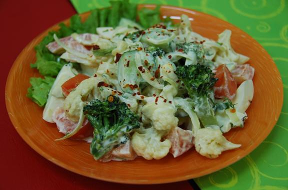 Салат-коктейль овощной рецепты с фото