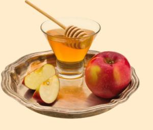 яблоко с медом