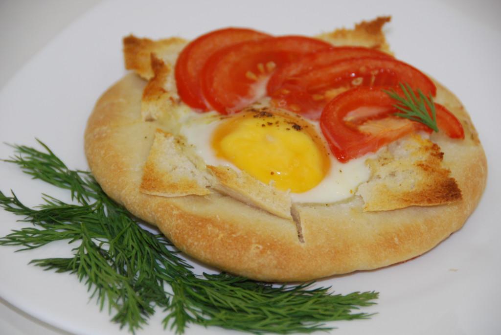 Пита с яйцом